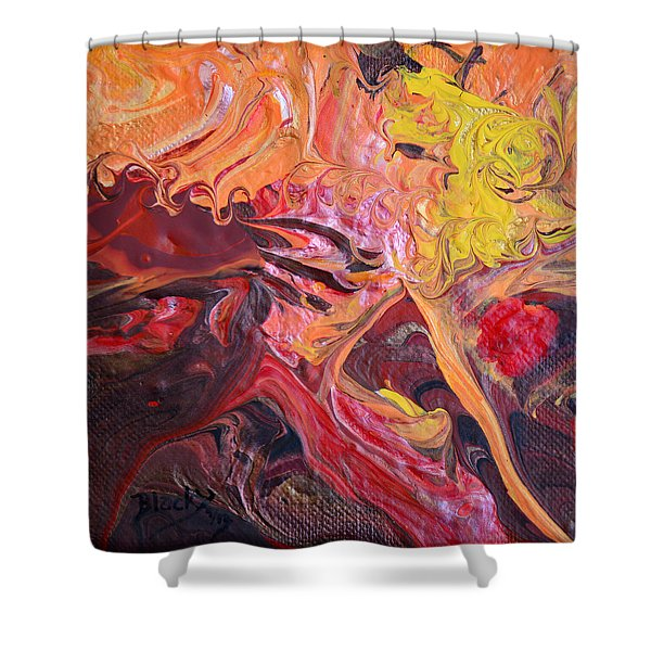 Goldilocks' Dementia Shower Curtain by Donna Blackhall