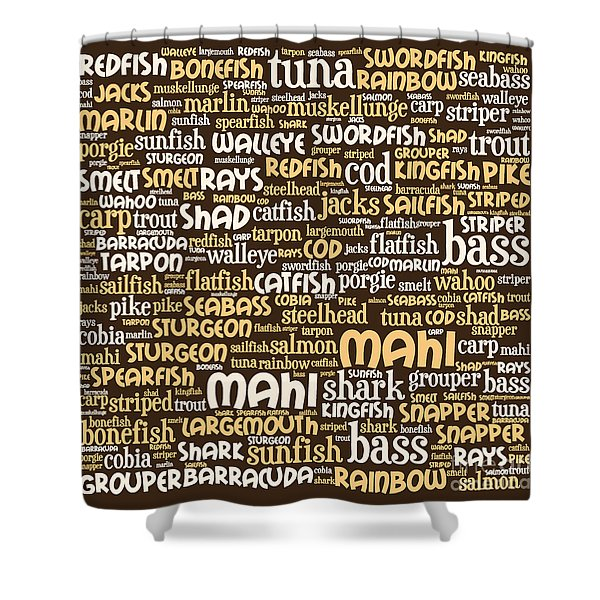 Gone Fishing 20130622bwwa85 Shower Curtain by Wingsdomain Art and Photography