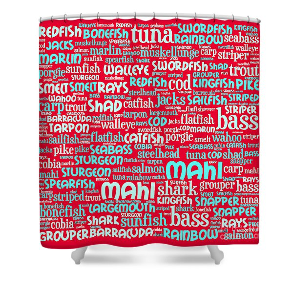 Gone Fishing 20130622p120 Shower Curtain by Wingsdomain Art and Photography