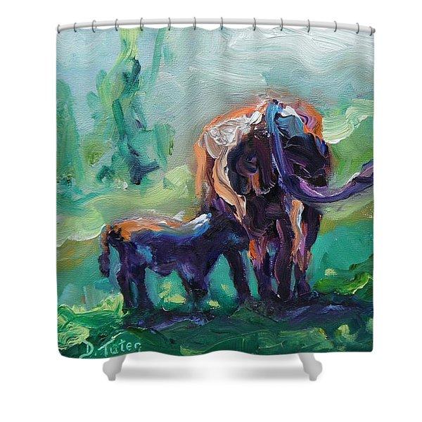Got Milk Shower Curtain by Donna Tuten