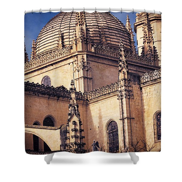 Gothic Cathedral Shower Curtain by Joan Carroll