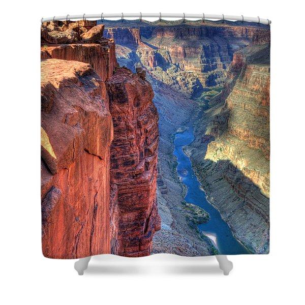 Grand Canyon Awe Inspiring Shower Curtain by Bob Christopher