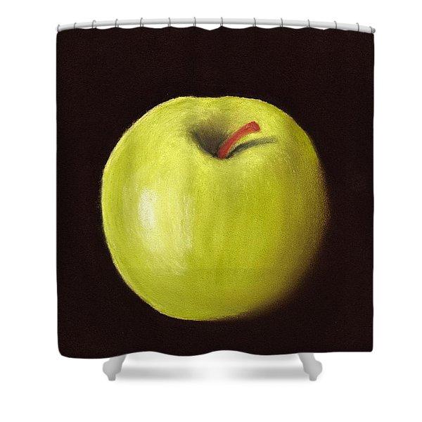 Granny Smith Apple Shower Curtain by Anastasiya Malakhova