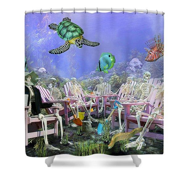 Grateful Friends Shower Curtain by Betsy C  Knapp