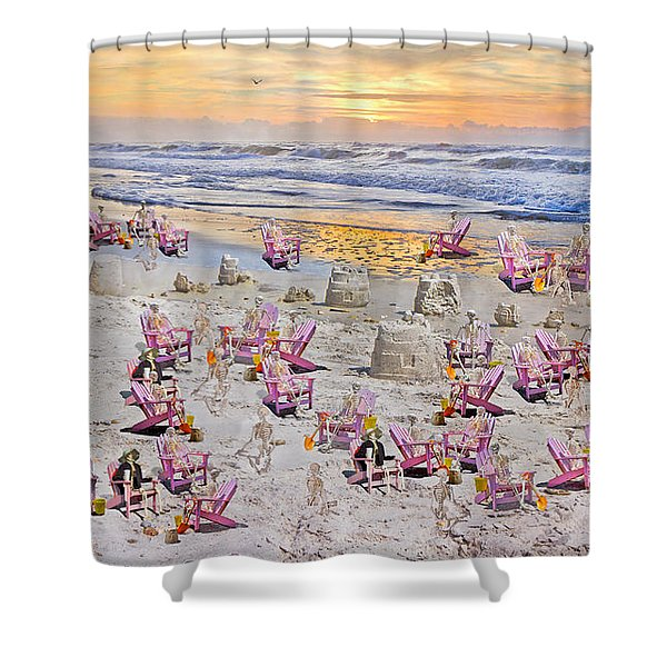 Grateful Holiday Shower Curtain by Betsy C  Knapp