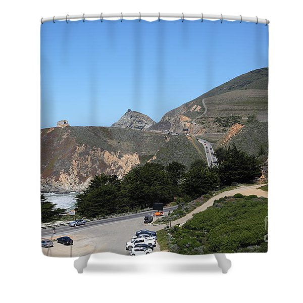 Gray Whale Cove State Beach Montara California 5d22614 Shower Curtain by Wingsdomain Art and Photography