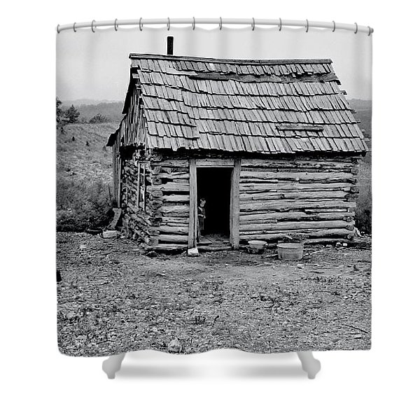 Great Depression Shower Curtain by Benjamin Yeager