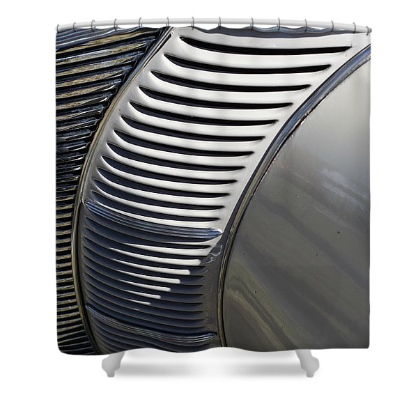 Grill Work Shower Curtain by Joe Kozlowski