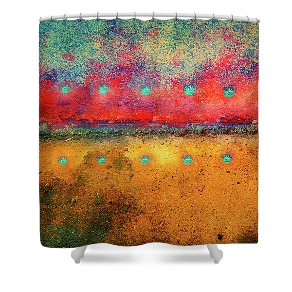 Grounded Shower Curtain by Tara Turner