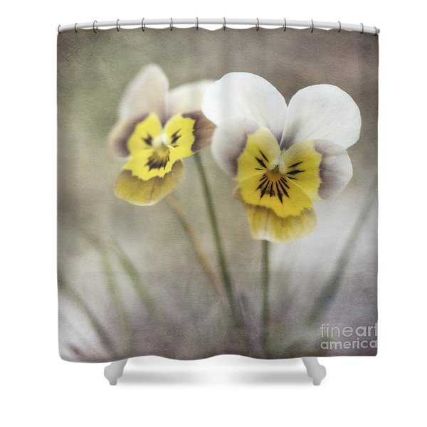 growing wild Shower Curtain by Priska Wettstein