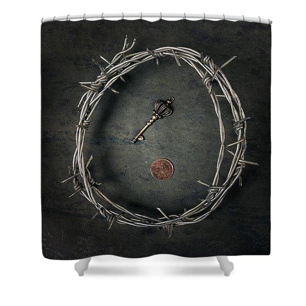 Guarded Treasure Shower Curtain by Joana Kruse