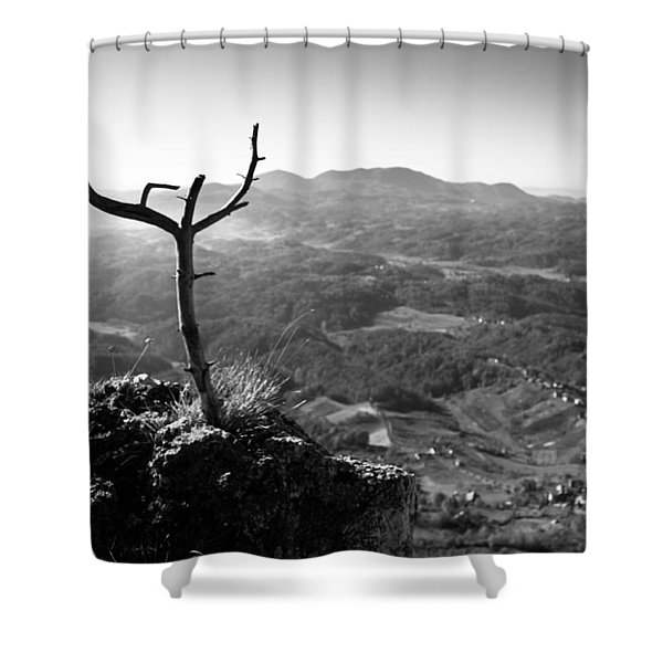 Guardian Shower Curtain by Davorin Mance