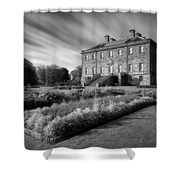 Haddo House Shower Curtain by Dave Bowman