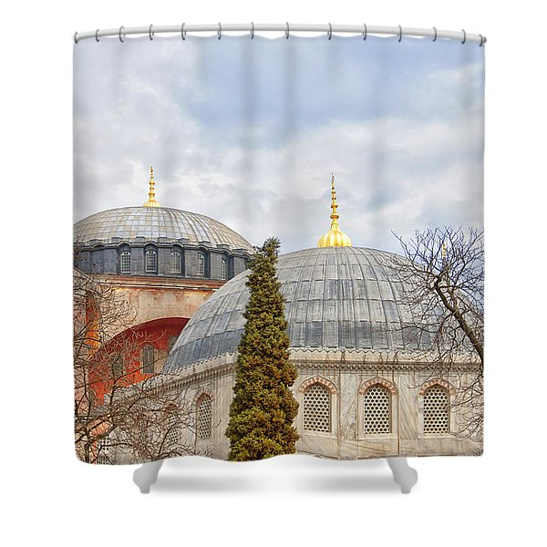 Hagia Sophia 11 Shower Curtain by Antony McAulay