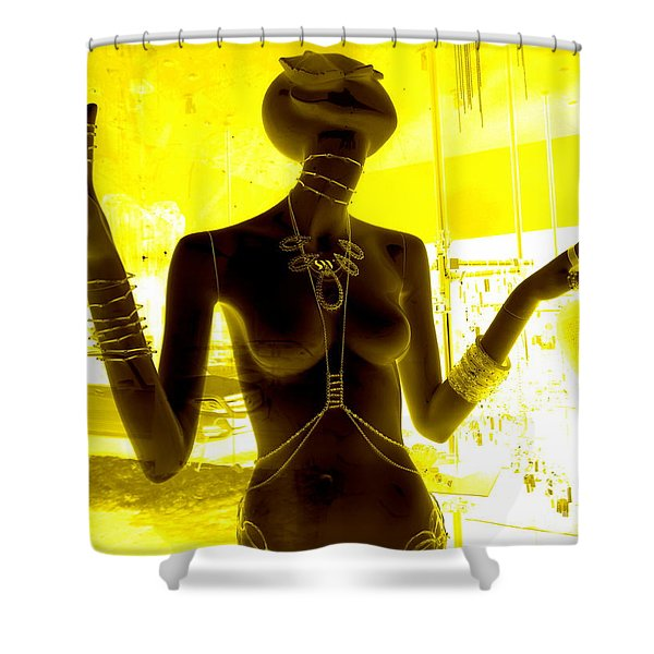 Hands Of Peace Shower Curtain by Ed Weidman