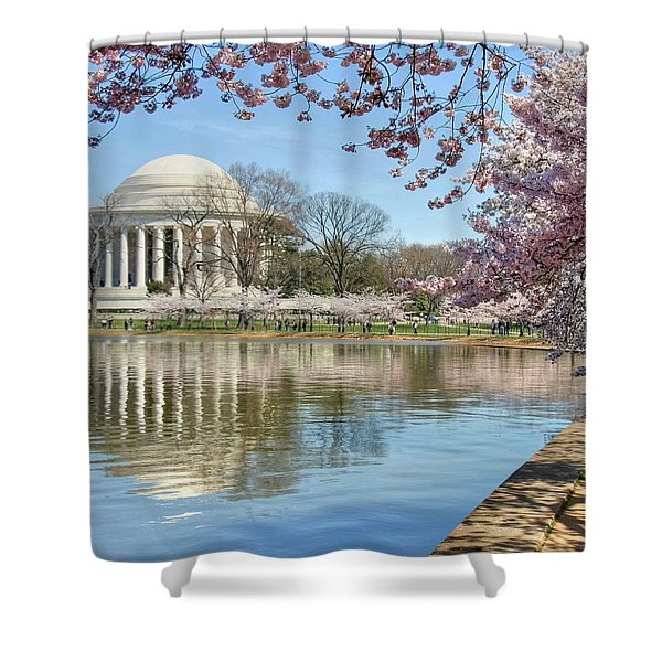 Happiness Shower Curtain by Mitch Cat