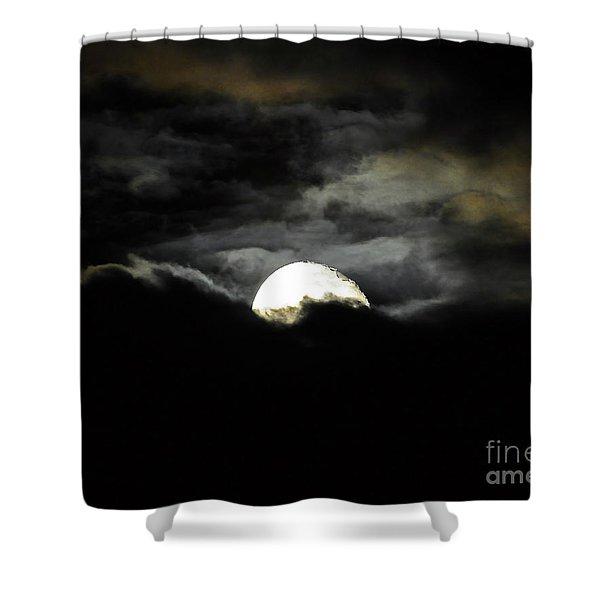 Haunting Horizon 02 Shower Curtain by Al Powell Photography USA