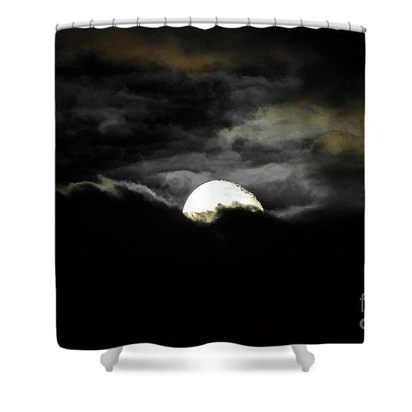Haunting Horizon Shower Curtain by Al Powell Photography USA