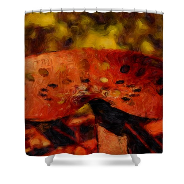 Have A Seat Shower Curtain by Jack Zulli