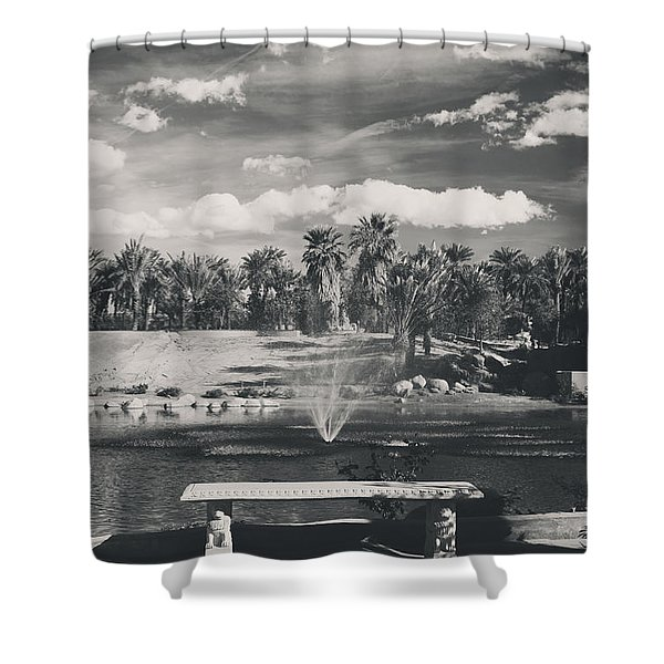 Heavenly Shower Curtain by Laurie Search