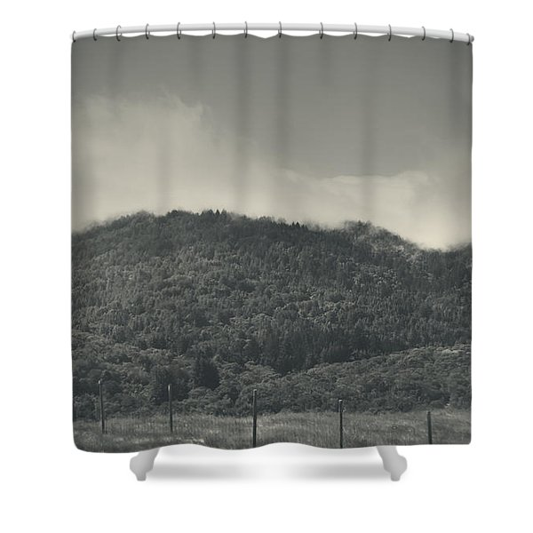Held Back Shower Curtain by Laurie Search