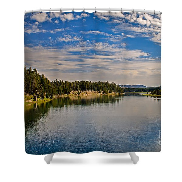 Henry Fork of Snake River II Shower Curtain by Robert Bales