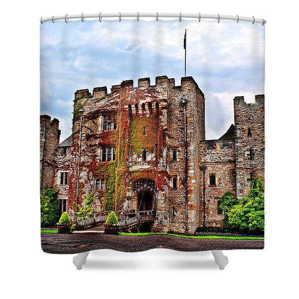 Hever Castle Shower Curtain by Chris Thaxter