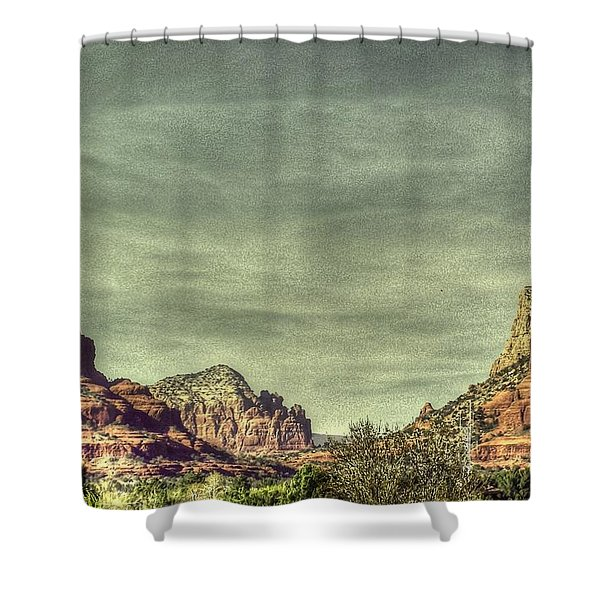 High Country Shower Curtain by Dan Stone