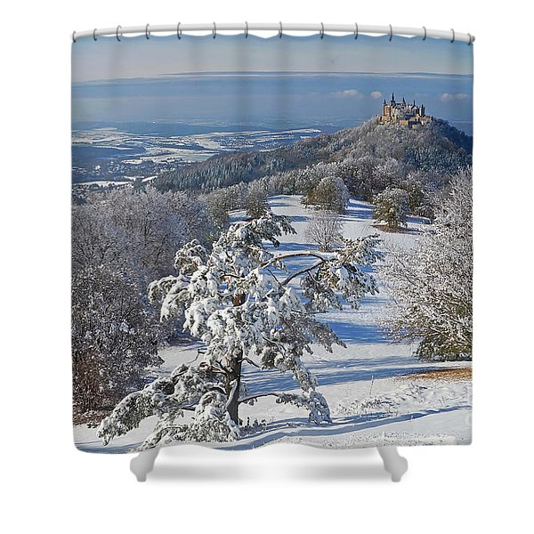 Hohenzollern Castle 2 Shower Curtain by Rudi Prott