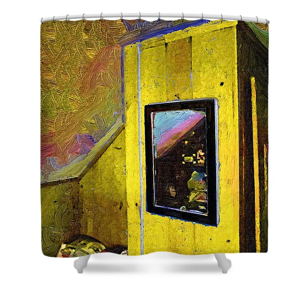 Home Again Shower Curtain by RC DeWinter