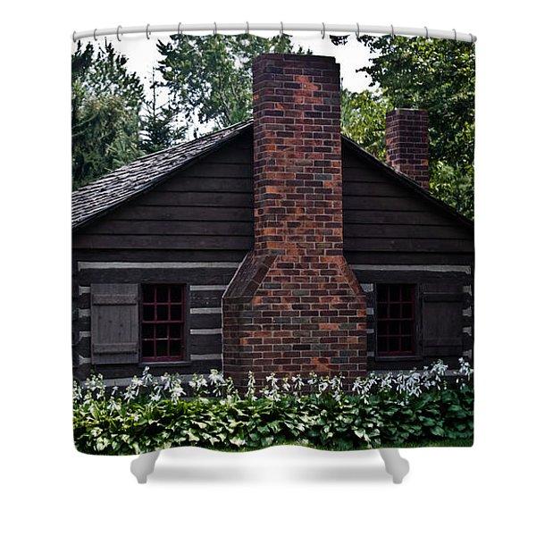 Home Sweet Home Shower Curtain by Joann Copeland-Paul