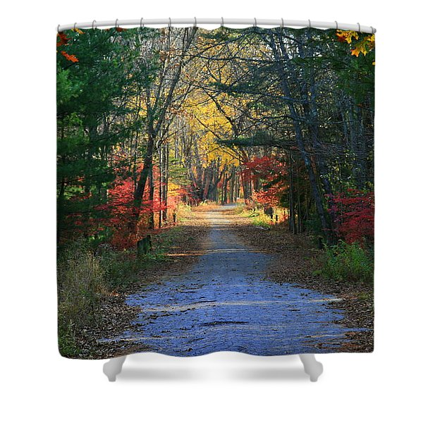 Homeward Bound Shower Curtain by Neal  Eslinger