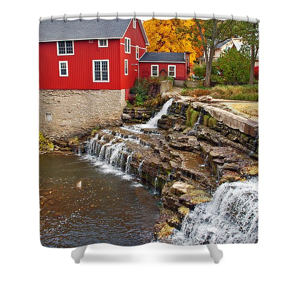 Honeoye Falls 1 Shower Curtain by Aimee L Maher Photography and Art