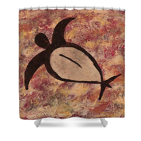 Honu Shower Curtain by Darice Machel McGuire