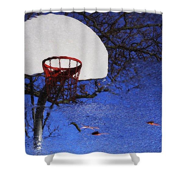 Hoop Dreams Shower Curtain by Jason Politte