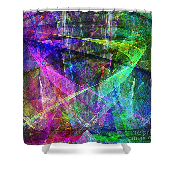 Hope 20130511 square Shower Curtain by Wingsdomain Art and Photography