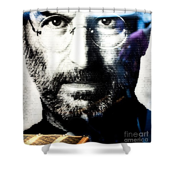 How Much is that Apple in the Window Shower Curtain by Rene Triay Photography