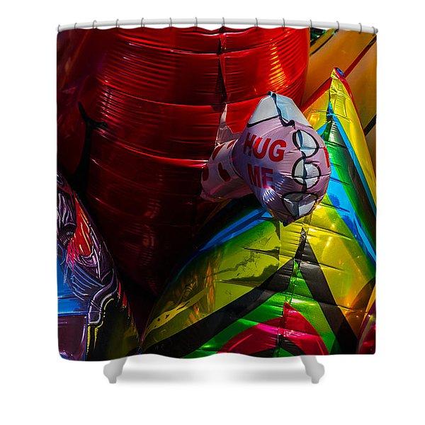 Hug Me - Featured 3 Shower Curtain by Alexander Senin