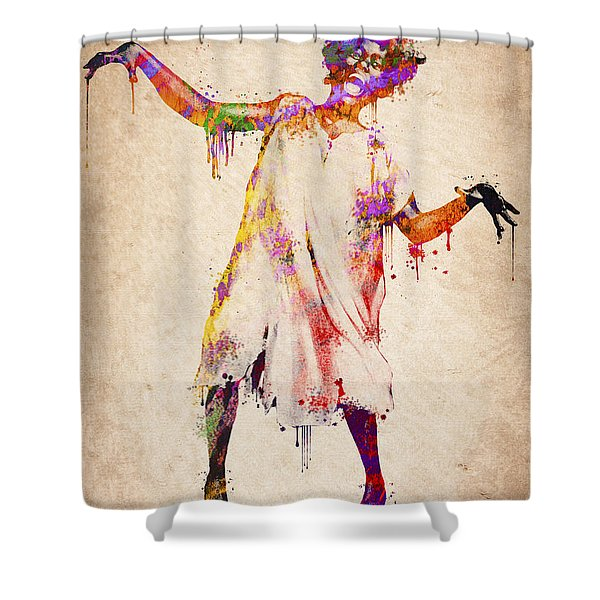 I am going crazy Shower Curtain by Aged Pixel