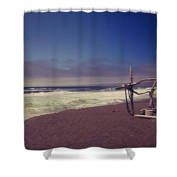 I Feel You Slipping Away Shower Curtain by Laurie Search