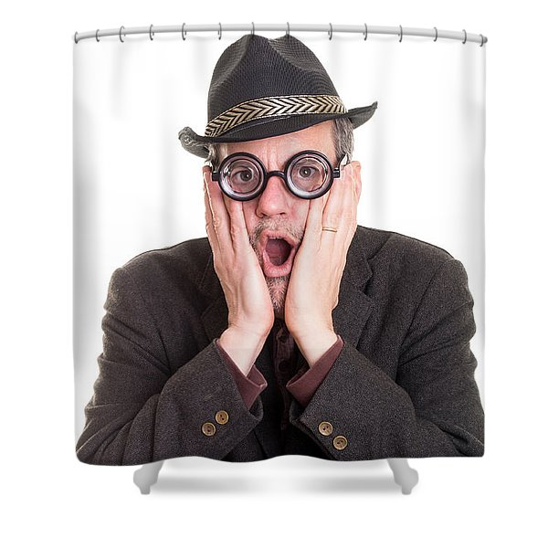 I Forgot Your Birthday Shower Curtain by Edward Fielding