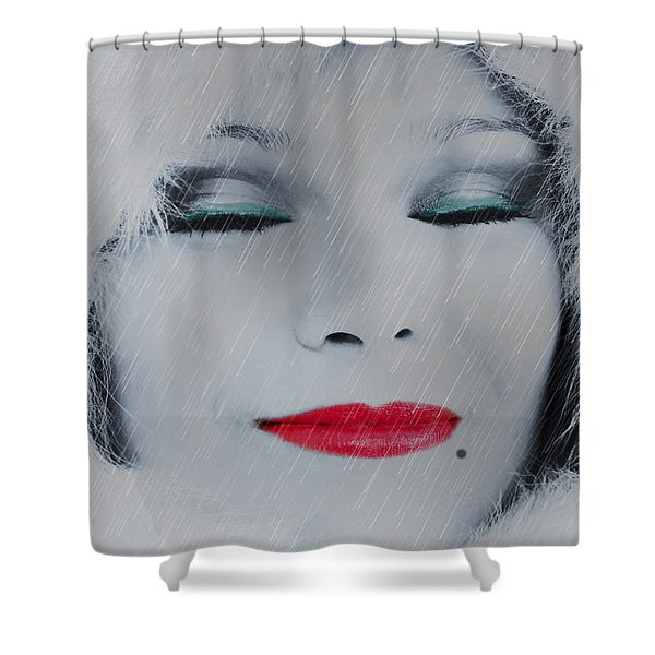 I LOVE TO SMELL FRESH RAIN Shower Curtain by EricaMaxine  Price