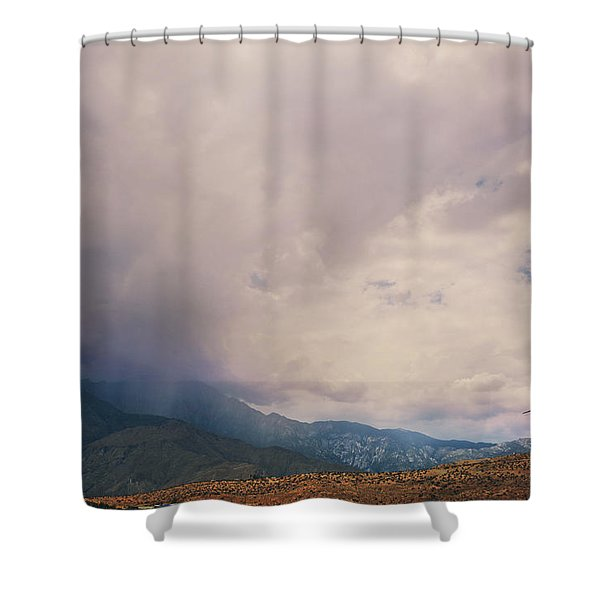 I Predict Rain Shower Curtain by Laurie Search