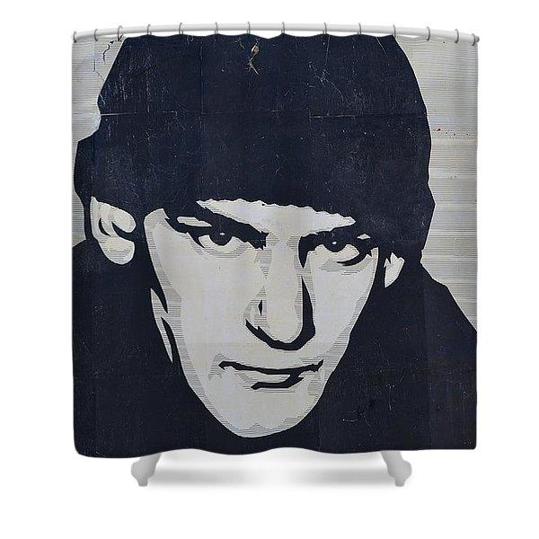 Ian MacKaye Shower Curtain by Allen Beatty