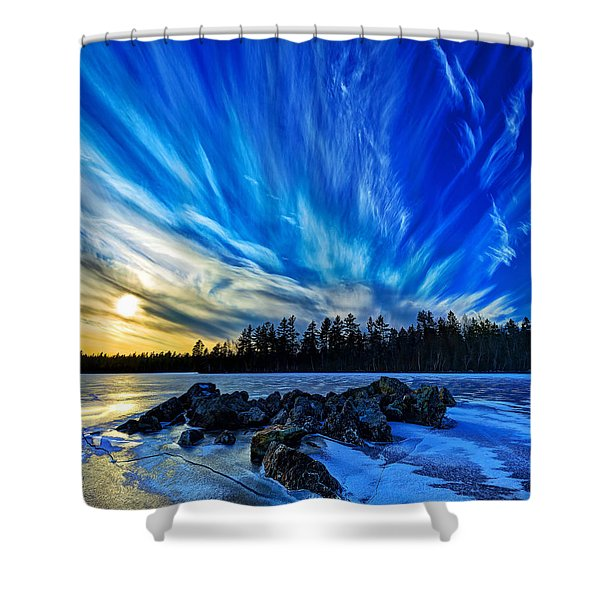 Icebound 3 Shower Curtain by Bill Caldwell -        ABeautifulSky Photography