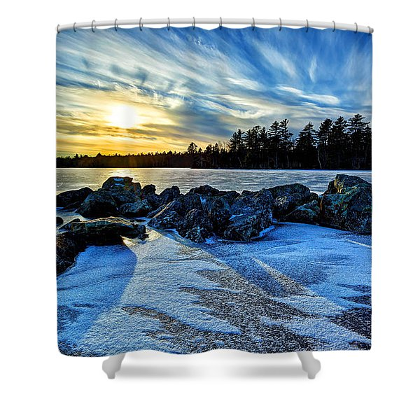 Icebound 5 Shower Curtain by Bill Caldwell -        ABeautifulSky Photography