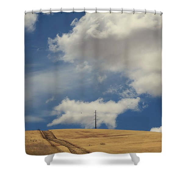 If You Wanna Run Away Shower Curtain by Laurie Search