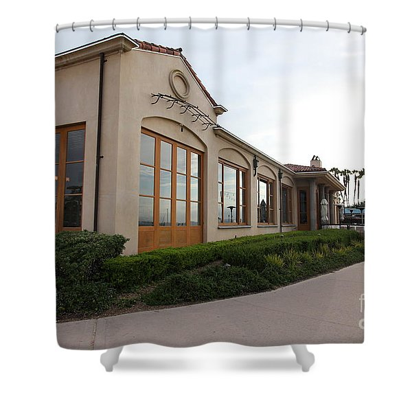 Il Fornaio Italian Restaurant In Coronado California 5D24362 Shower Curtain by Wingsdomain Art and Photography