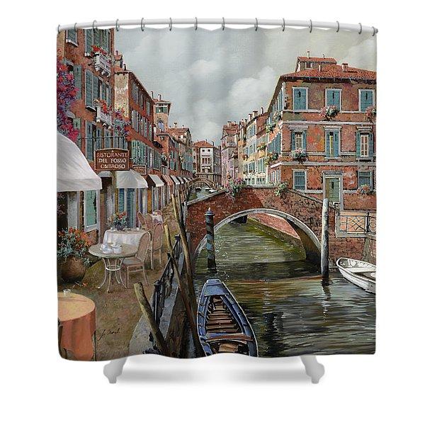 il fosso ombroso Shower Curtain by Guido Borelli