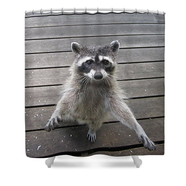 I'll Dance On One Foot For Ya Shower Curtain by Kym Backland